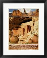 Framed Navajo