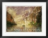 Framed Grand Canyon Colorado River