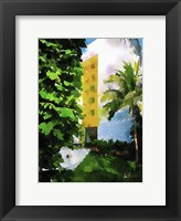 Framed Yellow Hotel