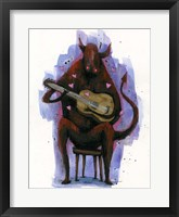 Framed Devil Plays The Blues