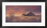 Framed Osage Barn