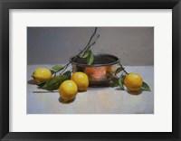 Framed Still Life with Lemons