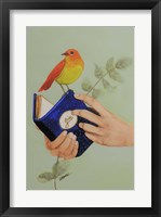 Framed Livre De Joie