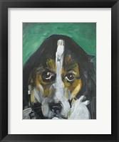 Framed Conan Dog