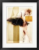 Framed Tired Dancer