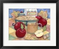 Framed Autumn Apples