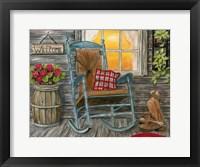 Framed Front Porch