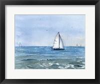 Framed Sailboat