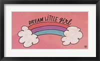 Framed Dream Little Girl