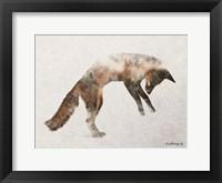 Framed Jumping Fox