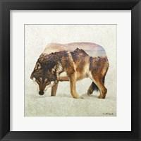 Framed Wolf - North