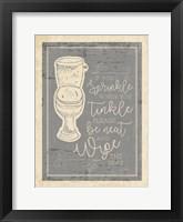 Framed Sprinkle Tinkle