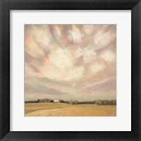 Framed Wintry Field