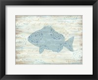 Framed Ocean Fish