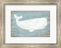 Framed Ocean Whale