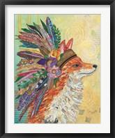 Framed Tribal Fox