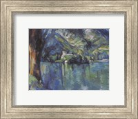 Framed Annecy Lake, 1896