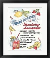 Framed Fruit Stand VII