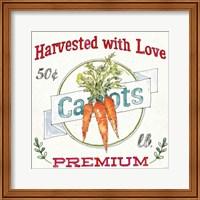 Framed Veggie Market V