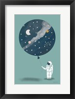 Framed Astronaut Balloon
