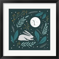 Framed Sweet Dreams Bunny III