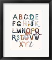 Framed Alphabet A to Z