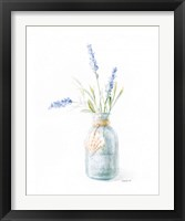 Framed Beach Flowers III