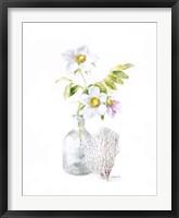 Beach Flowers II Framed Print
