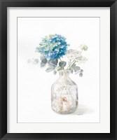 Framed Beach Flowers V