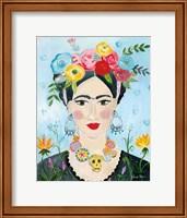Framed Homage to Frida II