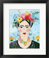 Framed Homage to Frida II