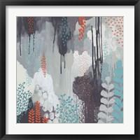 Framed Gray Forest I