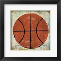 Framed Ball II on Ivory