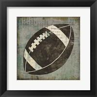 Ball III on Gray Framed Print