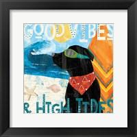 Framed Good Vibes IV
