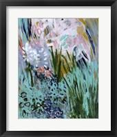 Framed Opulent Floral Strokes I