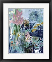 Framed Opulent Floral Strokes II