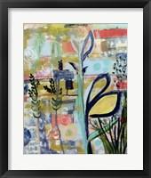 Framed Opulent Floral Strokes V