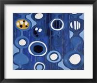 Framed Big Blue I