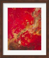 Framed Copper and Red II
