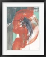 Framed Juxtaposed Coral II