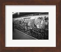 Framed Take the E-Train