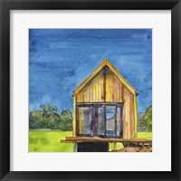 Framed Cabin Scape VI