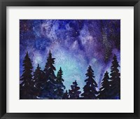 Framed Night Sky III