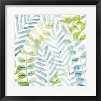 Framed Dancing Palms II