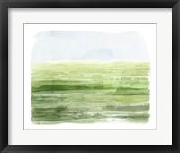 Framed Emerald Moors II