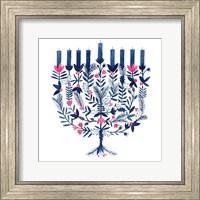Framed Boho Hanukkah I