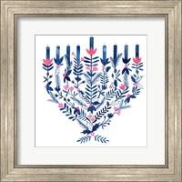 Framed Boho Hanukkah II
