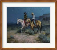 Framed Night Riders