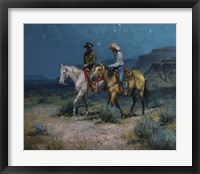 Framed Night Riders